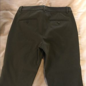Theory Pants - Theory Treeca Mod Twill Pant-Dark Green NWT!